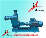 自吸泵,卧式离心式清水自吸泵厂家,ZX普通电机自吸泵,三洋泵业