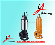 三洋泵业排污泵,JYWQ不锈钢排污泵,排污泵厂家,排污泵工作原理