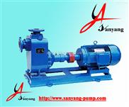 臥式自吸化工泵圖片,ZW自吸式無堵塞化工泵,防爆自吸化工泵