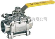 进口卫生级对焊球阀(进口不锈钢球阀)