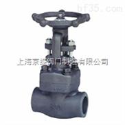 J11Y、J61Y丝口锻钢截止阀、焊接式锻钢截止阀