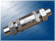 天然氣專用H21X高壓止回閥