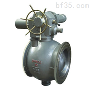 SZQ947N上装式电动偏心球阀,电动偏心球阀