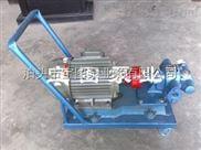 移动式齿轮泵消耗功率小磨损小--宝图泵业