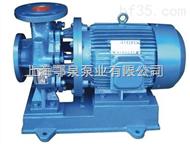 水泵廠家供應ISWH50-125A不鏽鋼管道離心泵臥式循環水泵化工泵