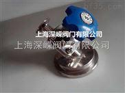 卫生级气动罐底隔膜阀
