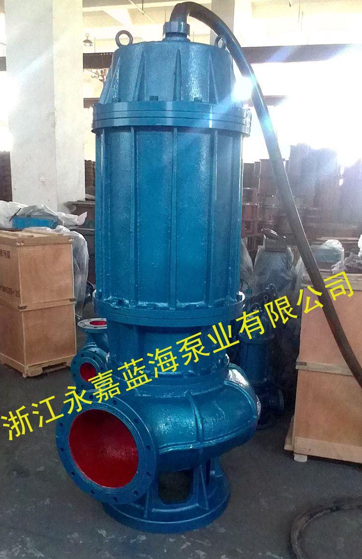 大流量潜污泵,无堵塞排污泵,自耦装置潜水排污泵报价